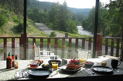Twisp River Inn Deck